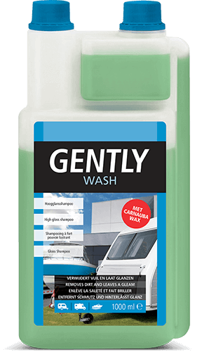 Gently Wash is een milde hoogglans shampoo